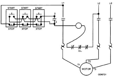 14027 200 on 3 wire start stop diagram