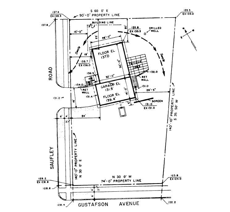 Figure 29Plot plan – Plot Plan And Site Plan