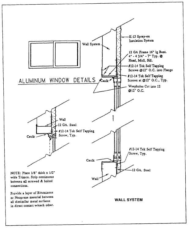 Aluminum Window Construction : Aluminum window installation