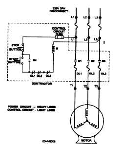 connection diagrams rh constructionmanuals tpub com wiring diagram of direct online motor control wiring diagram motor control system