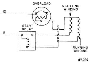 14259_294_2 single phase hermetic motors compressor start relay wiring diagram at mifinder.co