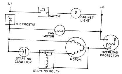 14259_312_1 figure 14 43 typical hermetic system schematic wiring diagram electrical circuit diagram of air conditioner at crackthecode.co